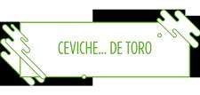 Ceviche... de toro